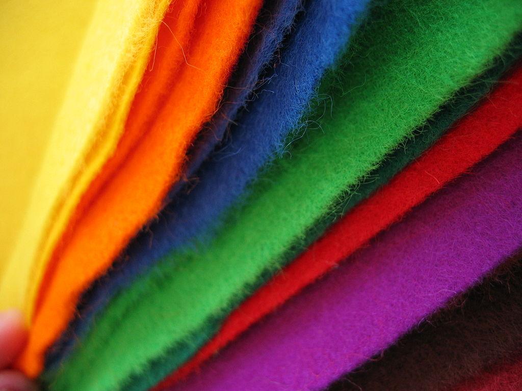 type of acrylic fibers