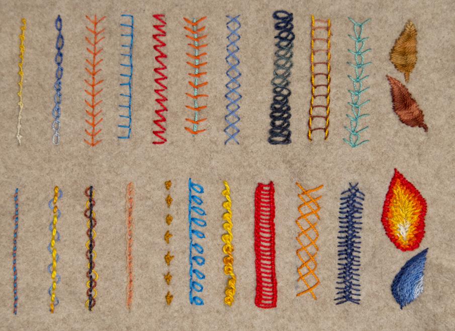 Fashion Embroidery And Stitch