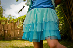 Layered skirt /Tiered skirt