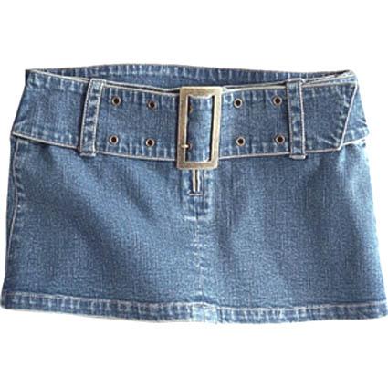 Micro mini skirt
